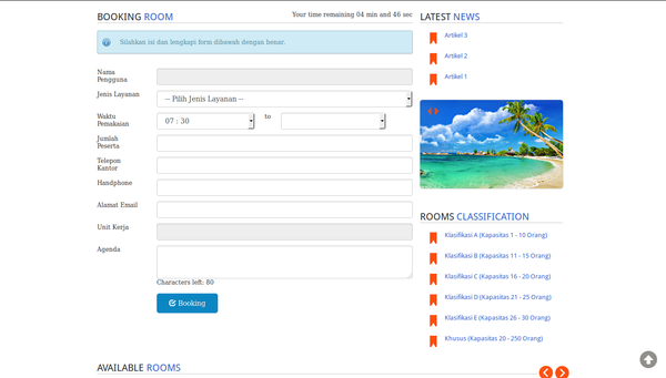 Meeting Room Garuda Indonesia Web Preview